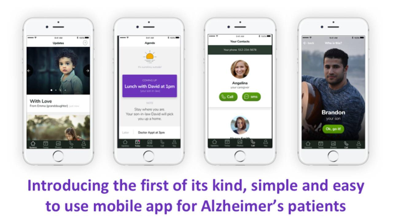 Timeless App For Alzheimer's Patients