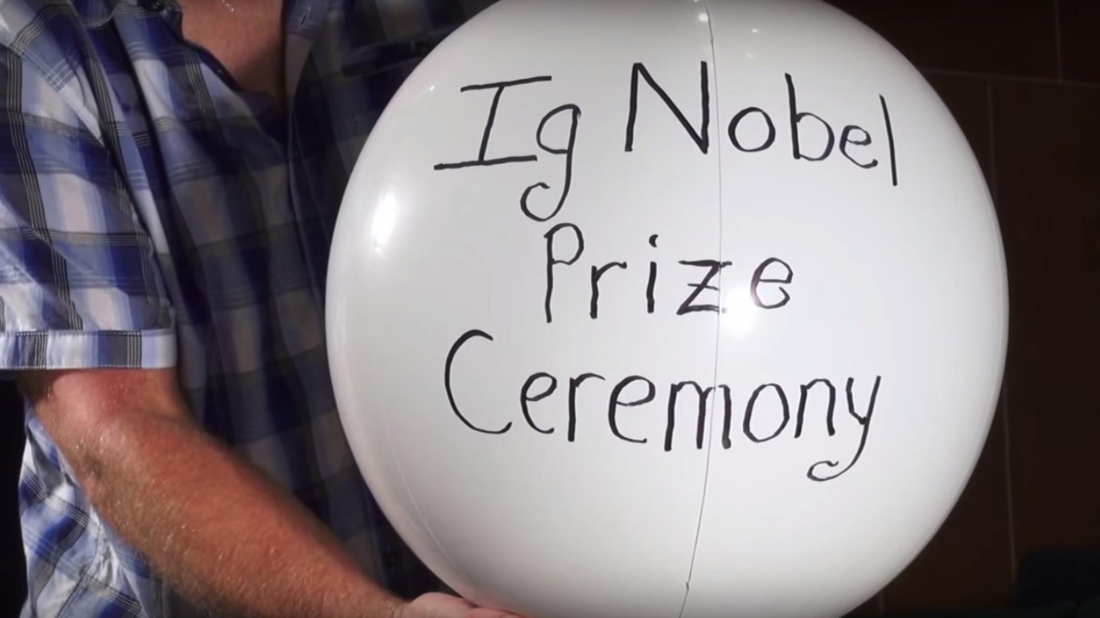 The Ig Nobel Prizes